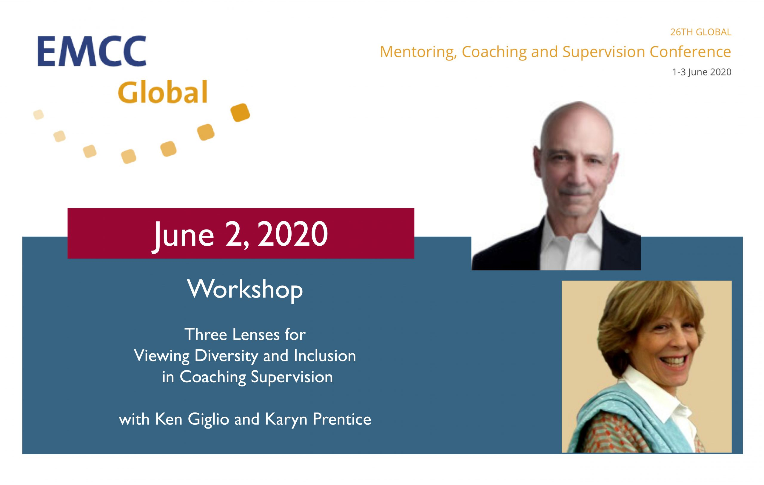 Ken and Karyn speaking at June 2020 EMCC Conference
